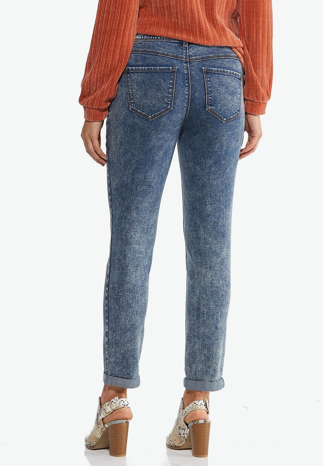 Acid Wash Girlfriend Jeans (Item #44449702)