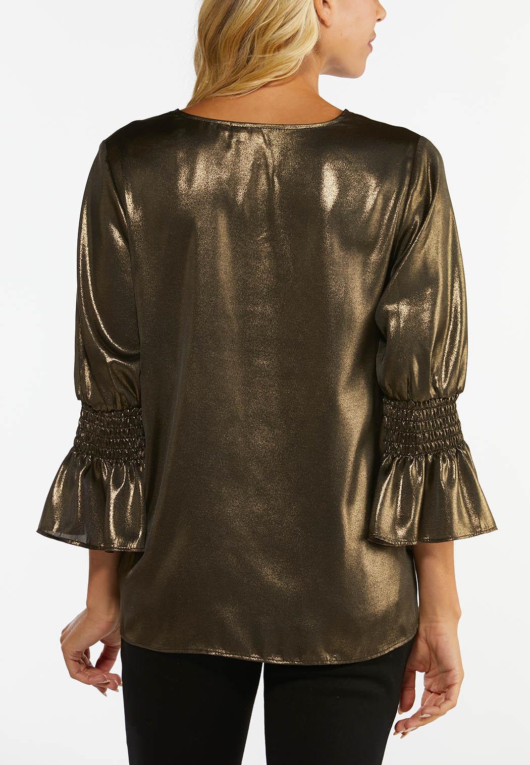 Gold Metallic Top (Item #44452433)