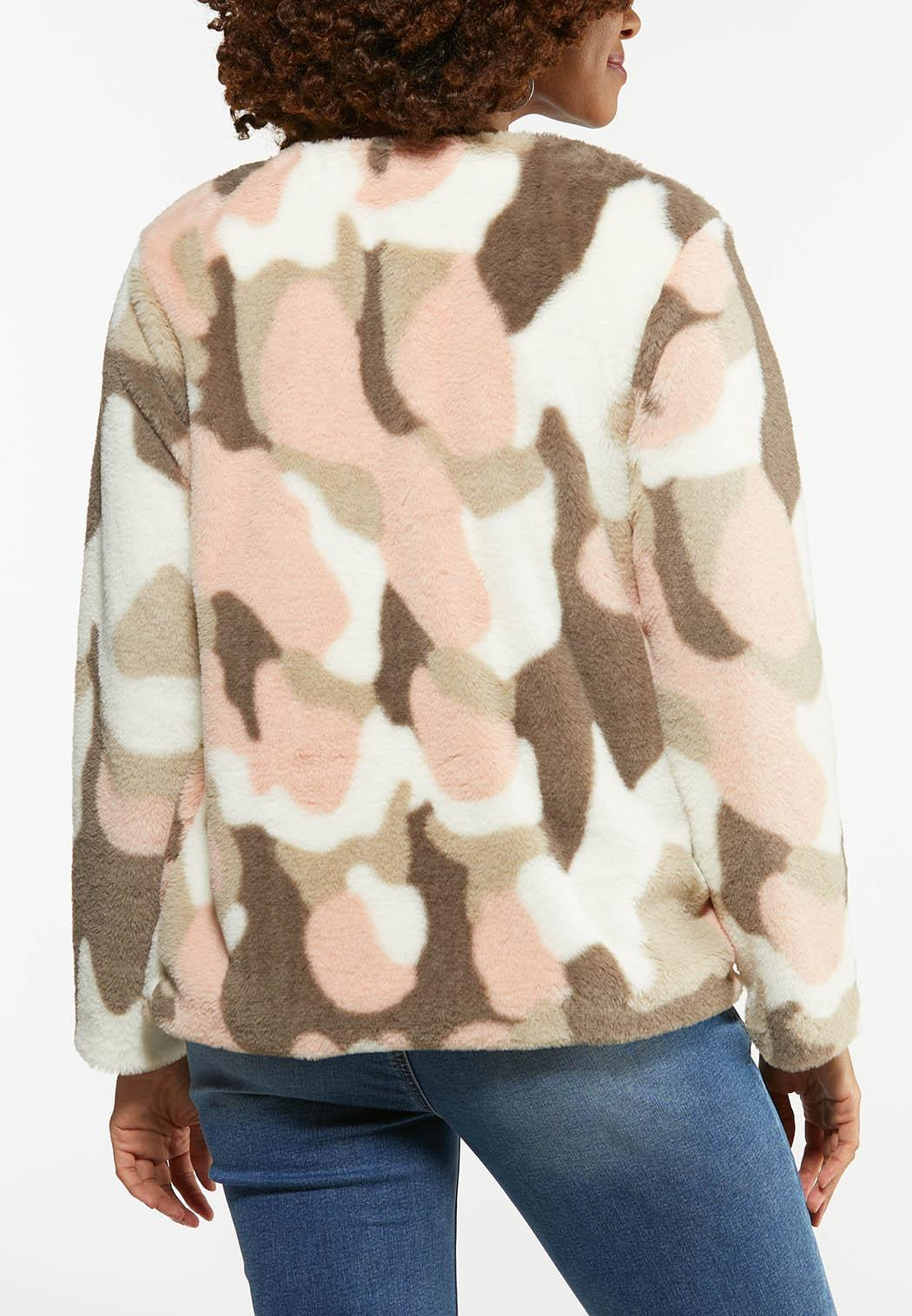 Blushing Leopard Faux Fur Jacket (Item #44454602)
