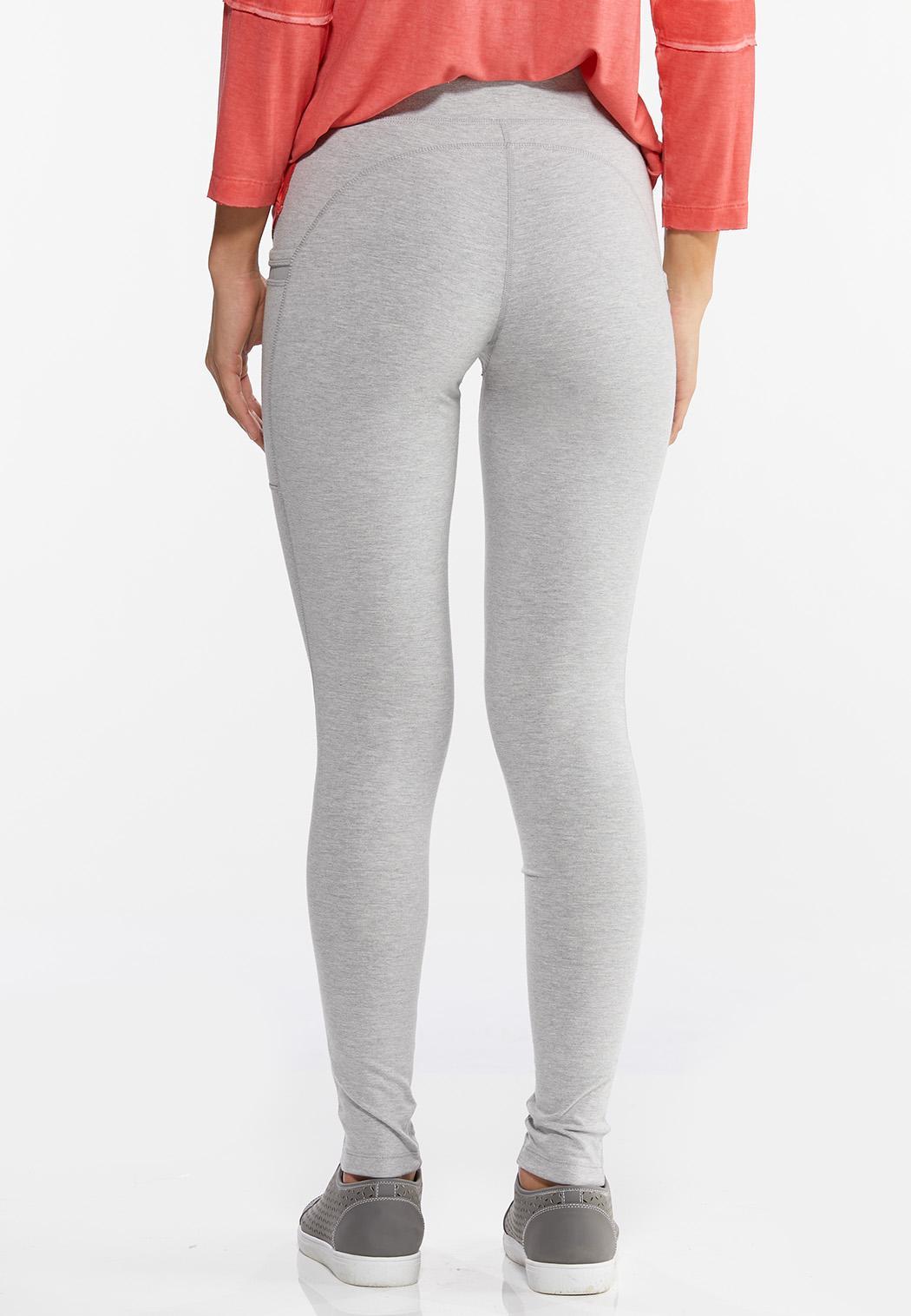 Gray Two Pocket Leggings (Item #44456135)