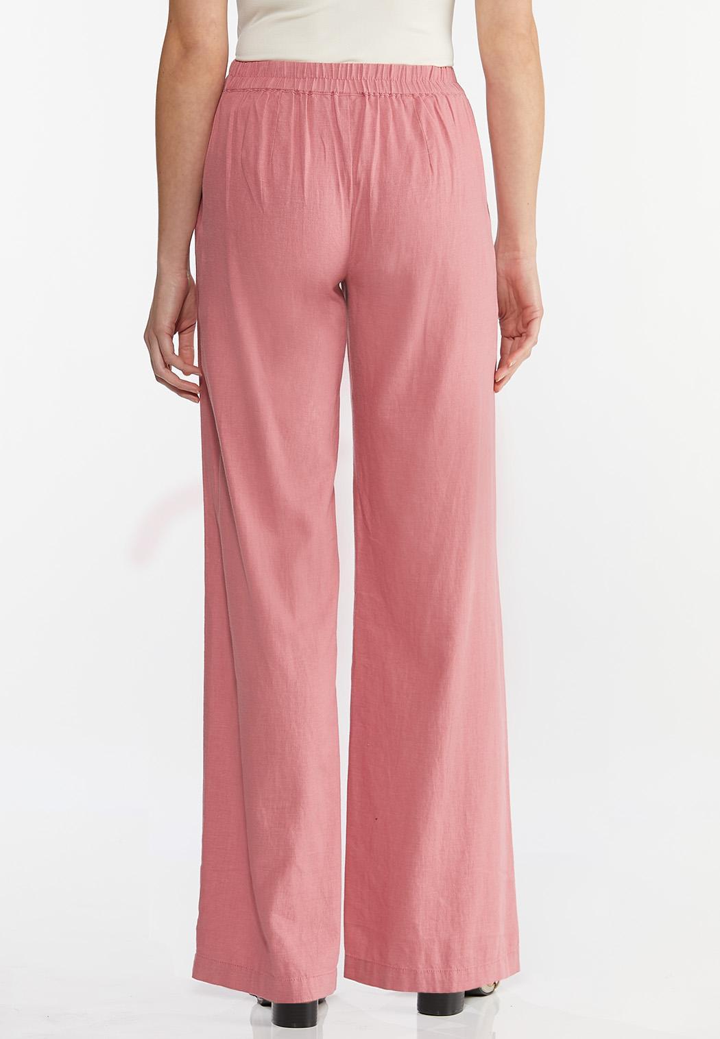 Rose Linen Pants (Item #44456486)