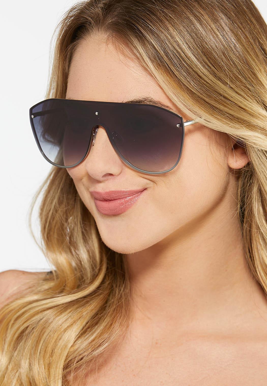 Black Shield Sunglasses (Item #44456620)