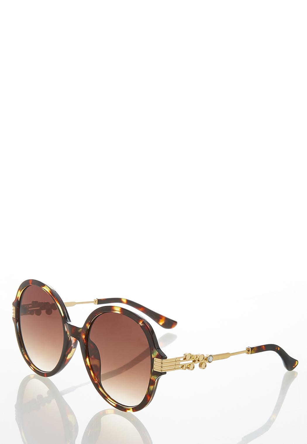 Tortoise Round Sunglasses (Item #44456749)