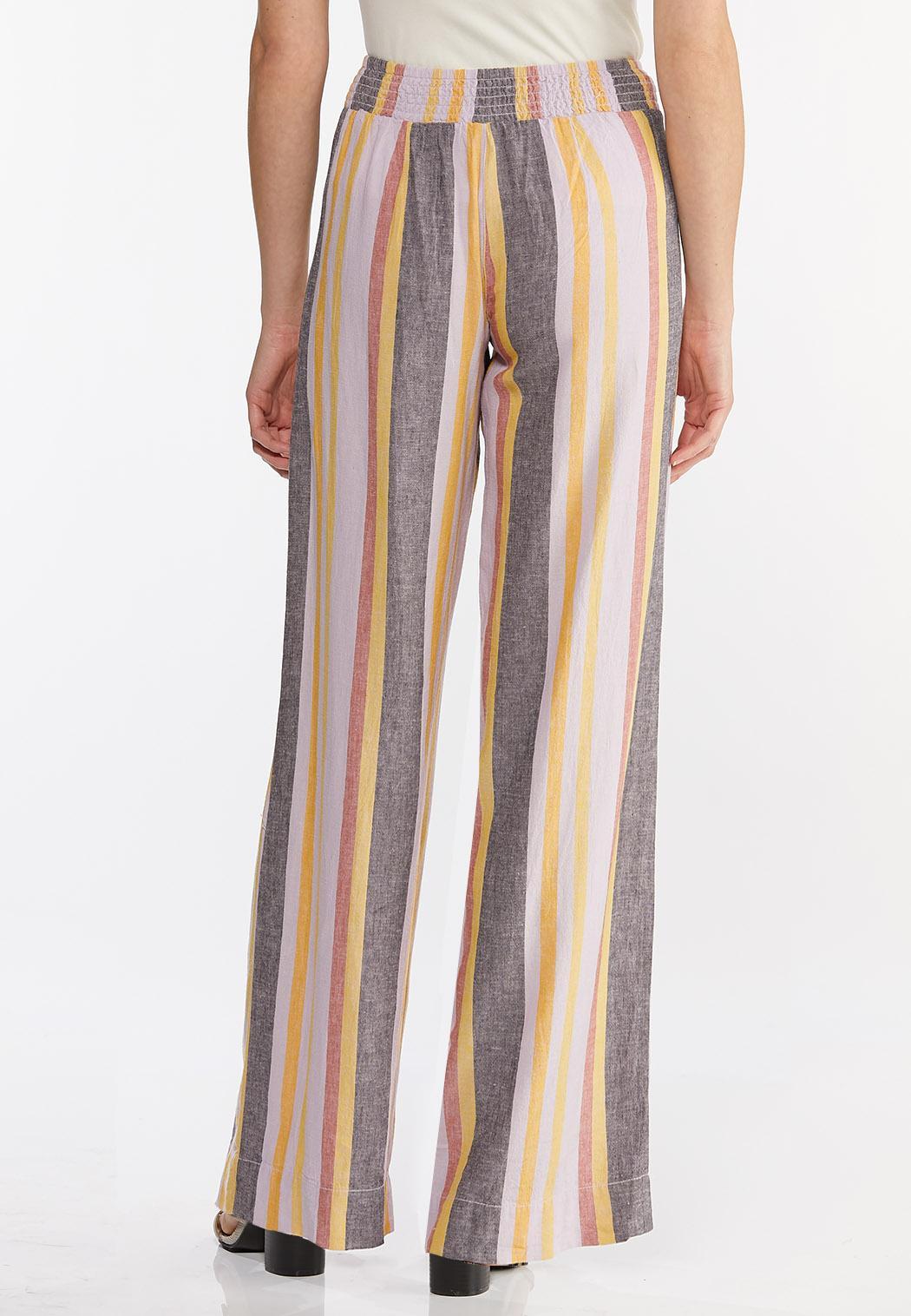 Striped Linen Pants (Item #44457056)