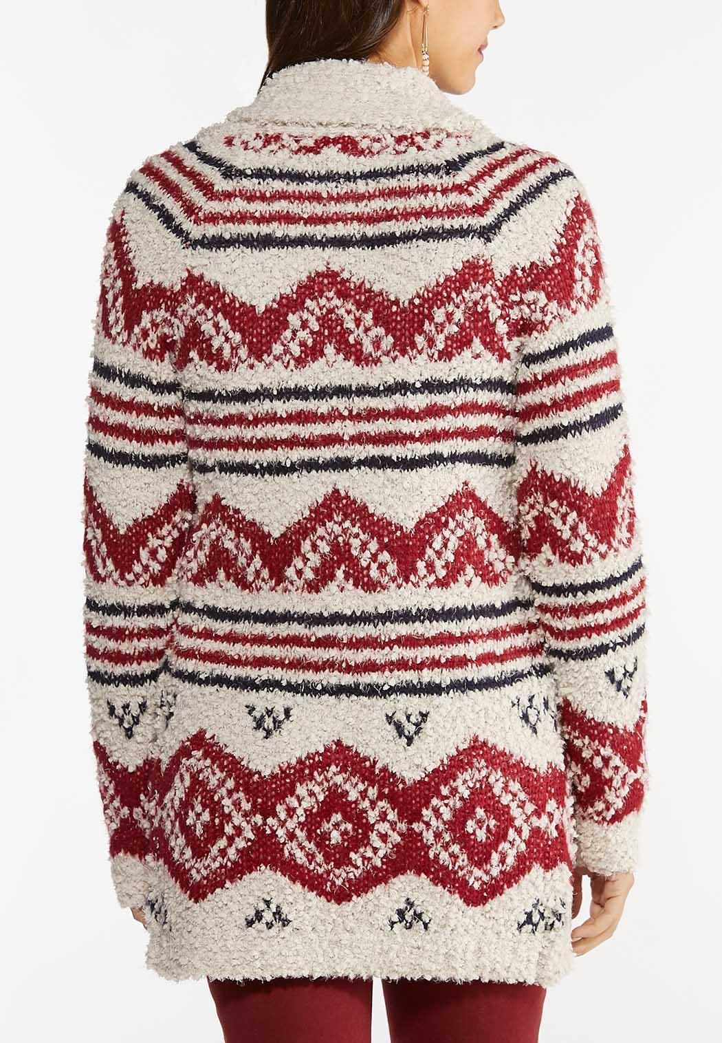 Cozy Aztec Cardigan Sweater (Item #44457454)