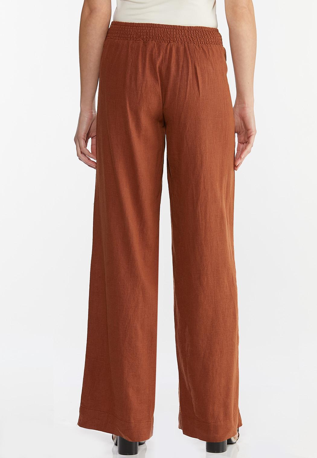 Patch Pocket Linen Pants (Item #44457726)