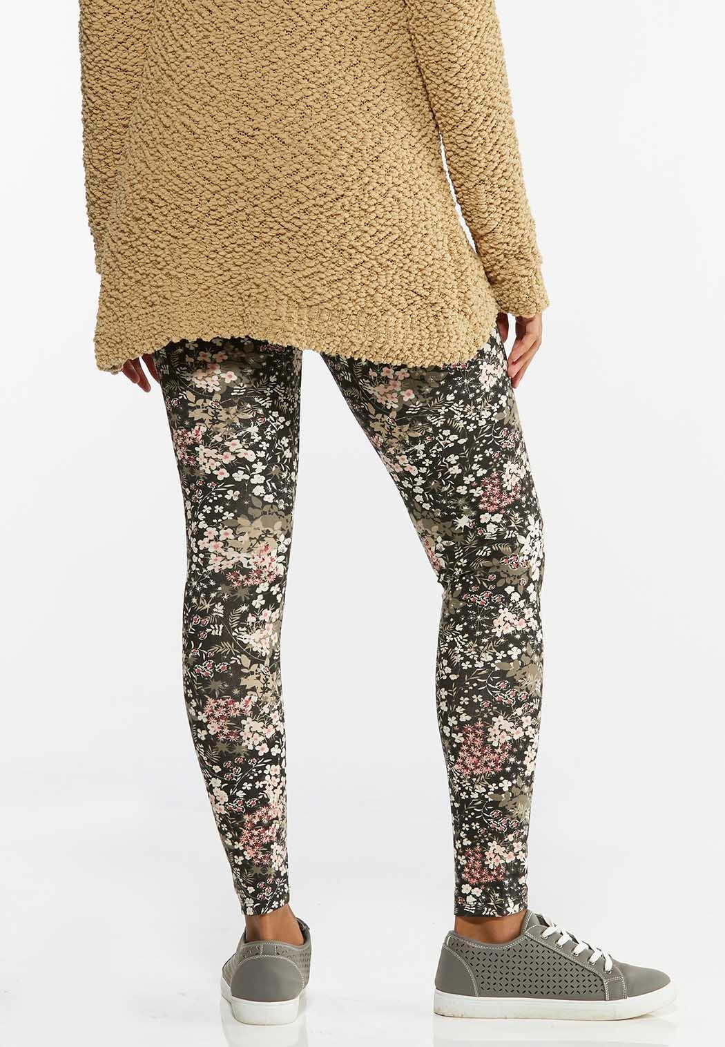 Garden Floral Leggings (Item #44458616)