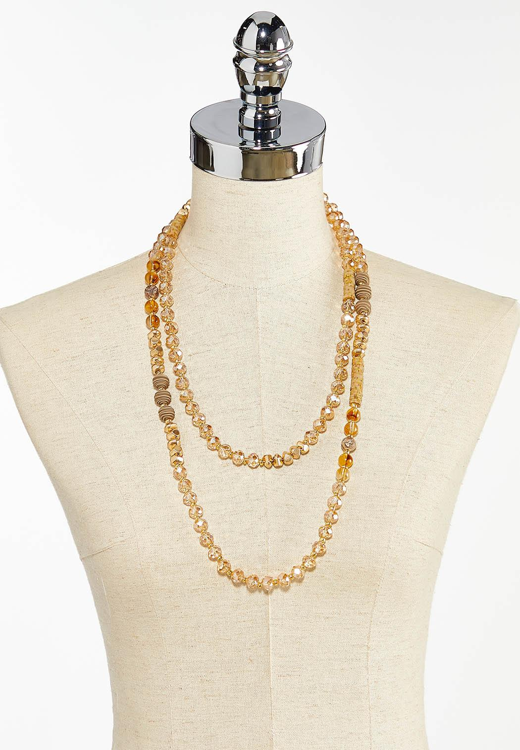 Layered Rondelle Necklace (Item #44458880)