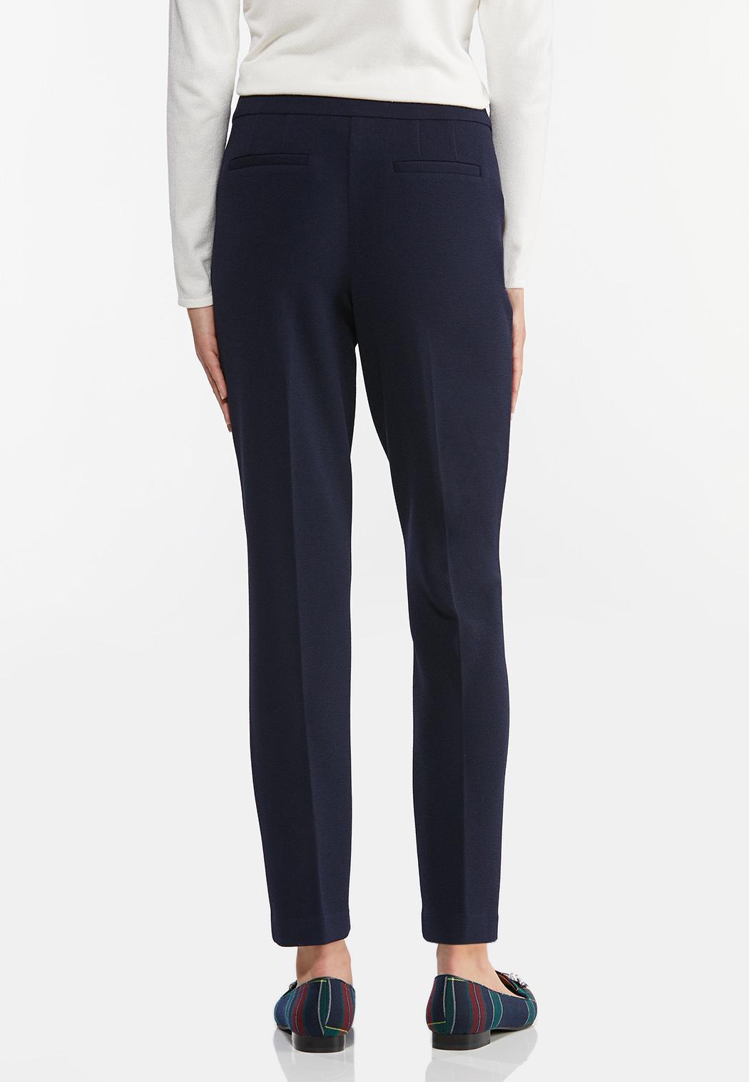 Petite Textured Slim Pants (Item #44461708)