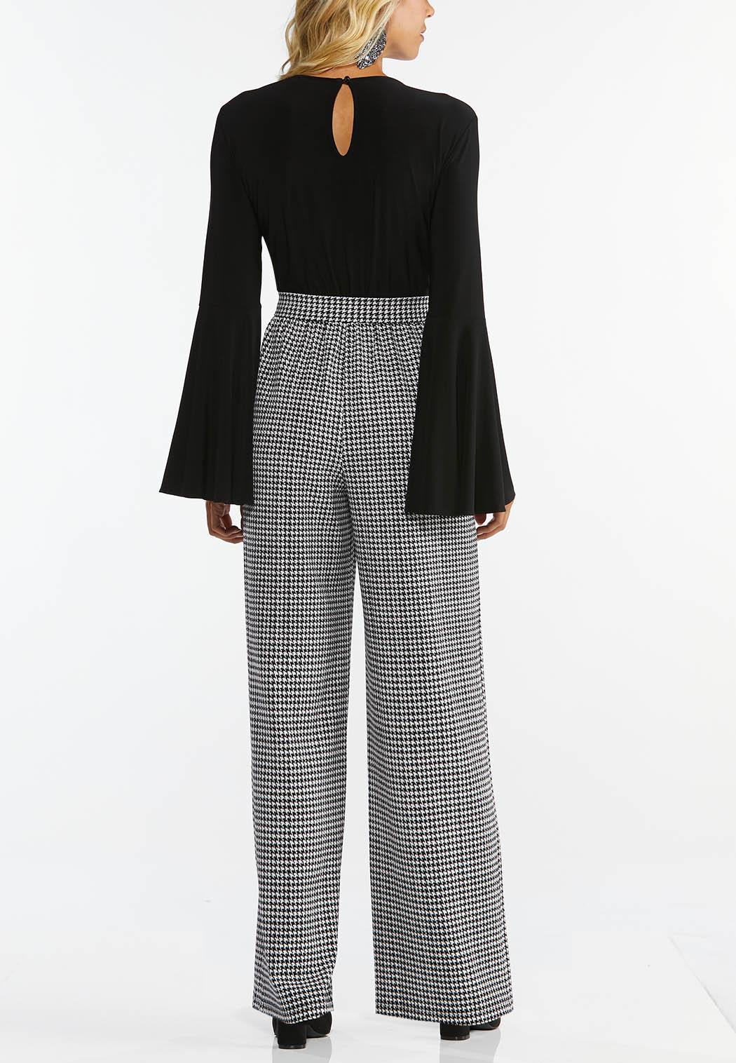 Dressy Houndstooth Jumpsuit (Item #44461819)