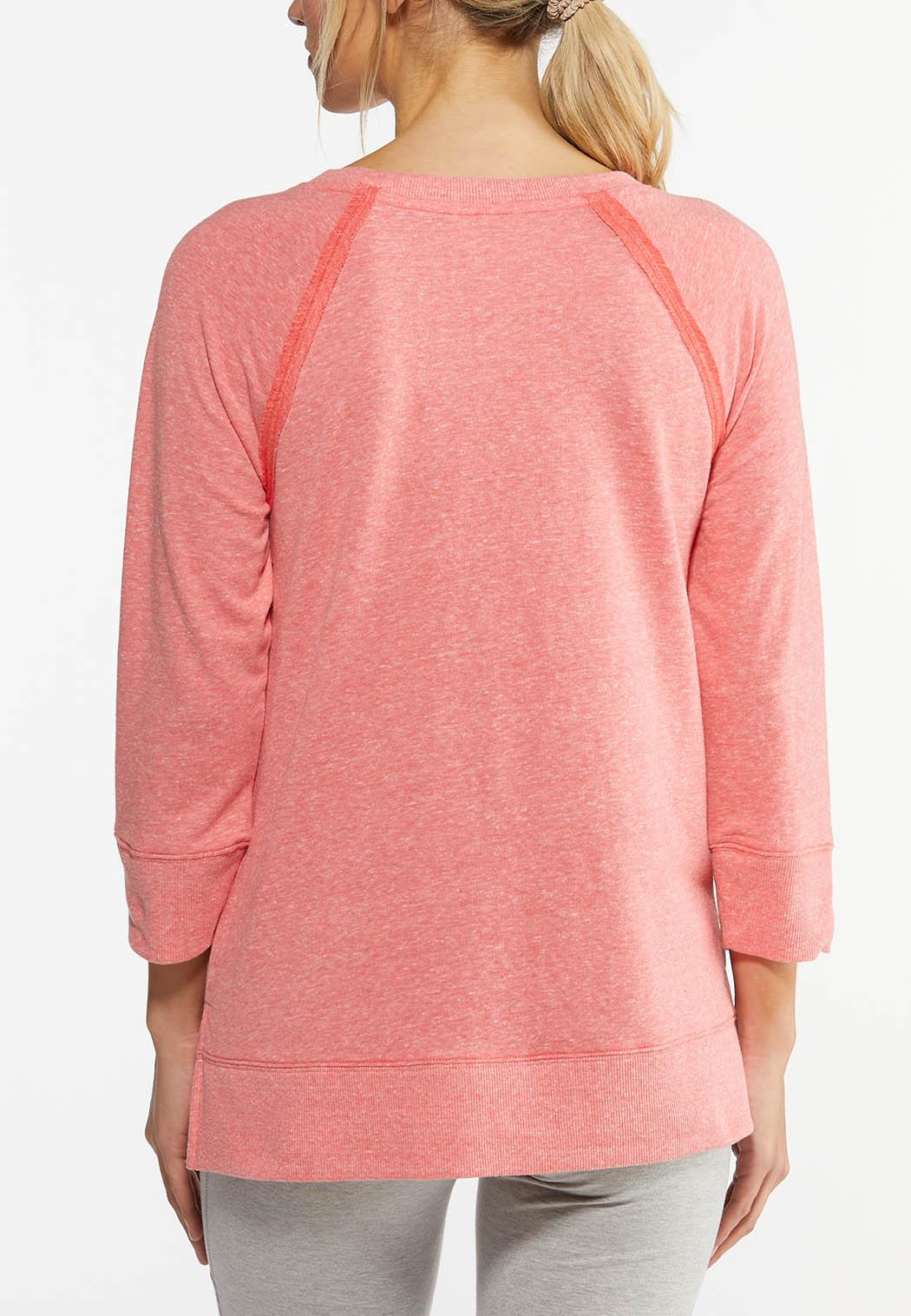 French Terry Athleisure Top (Item #44462347)