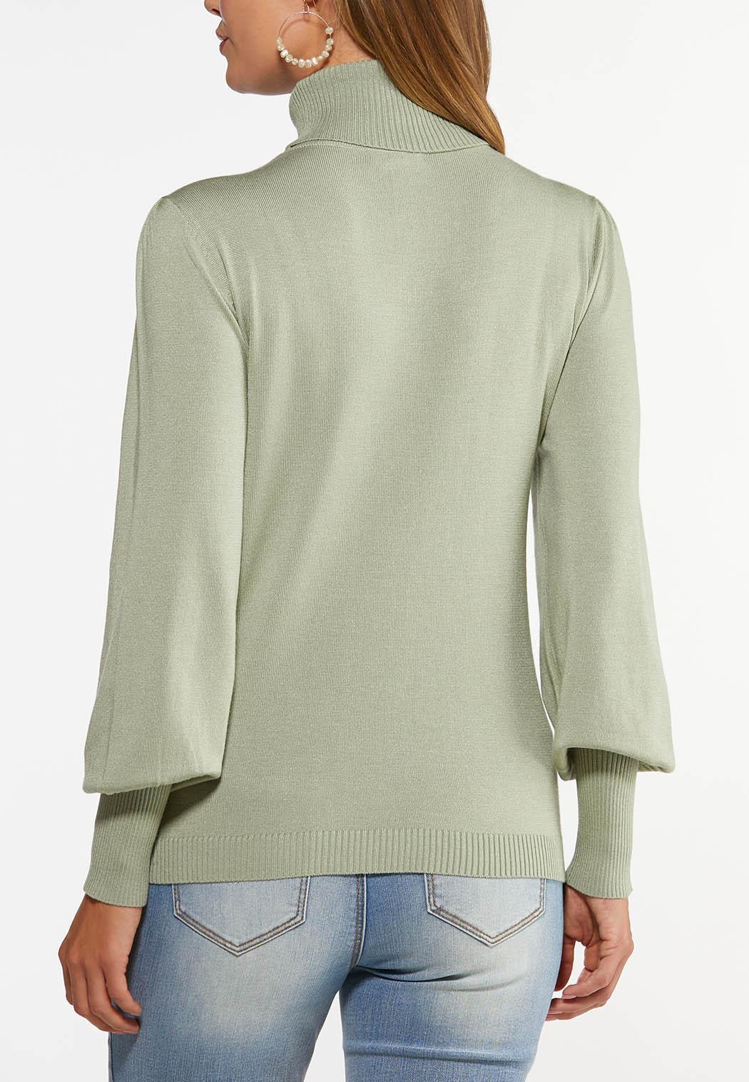 Sage Turtleneck Sweater (Item #44462471)