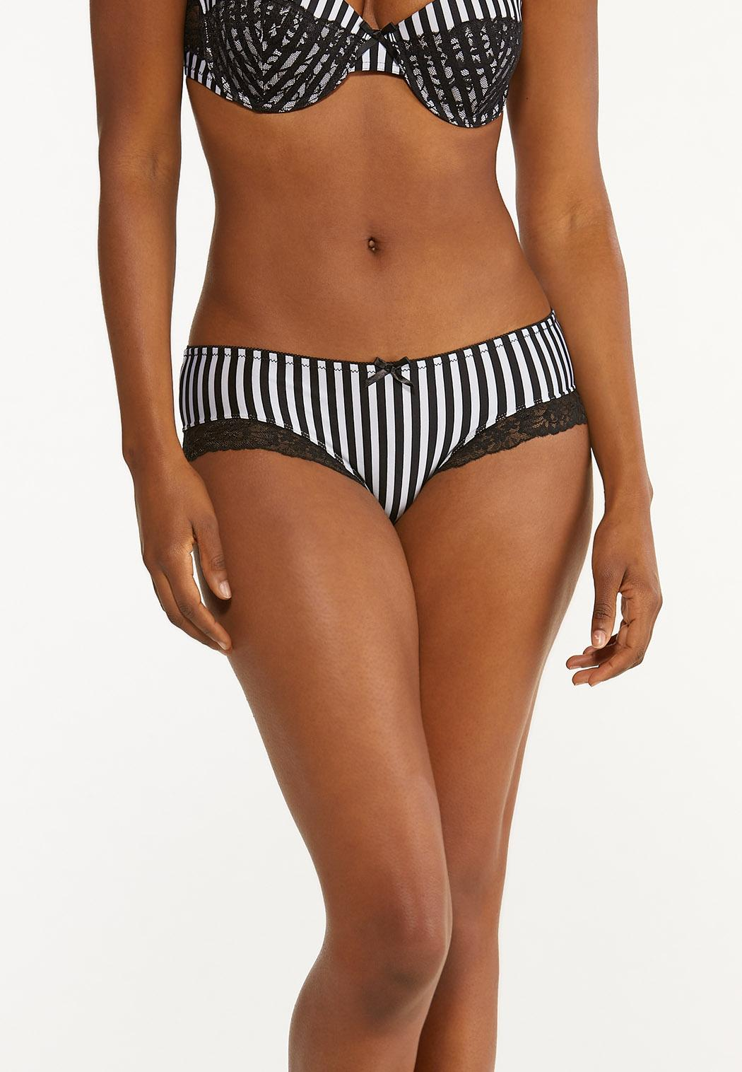 Striped Hipster Panty Set (Item #44463369)