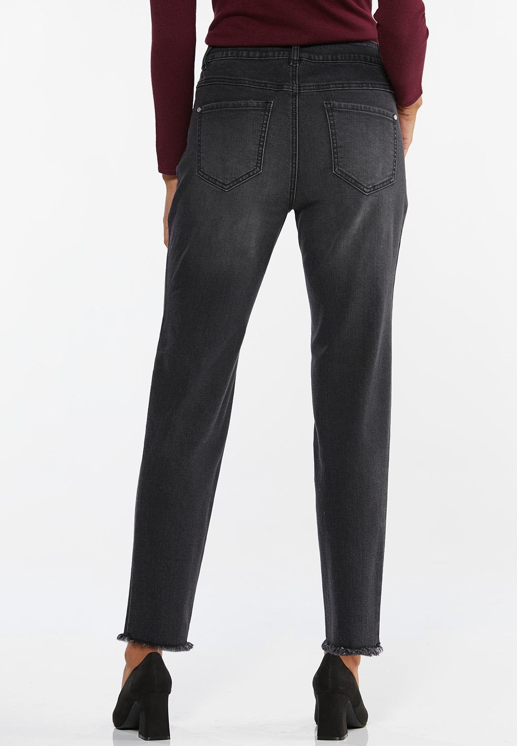 Black Skinny Ankle Jeans (Item #44464000)