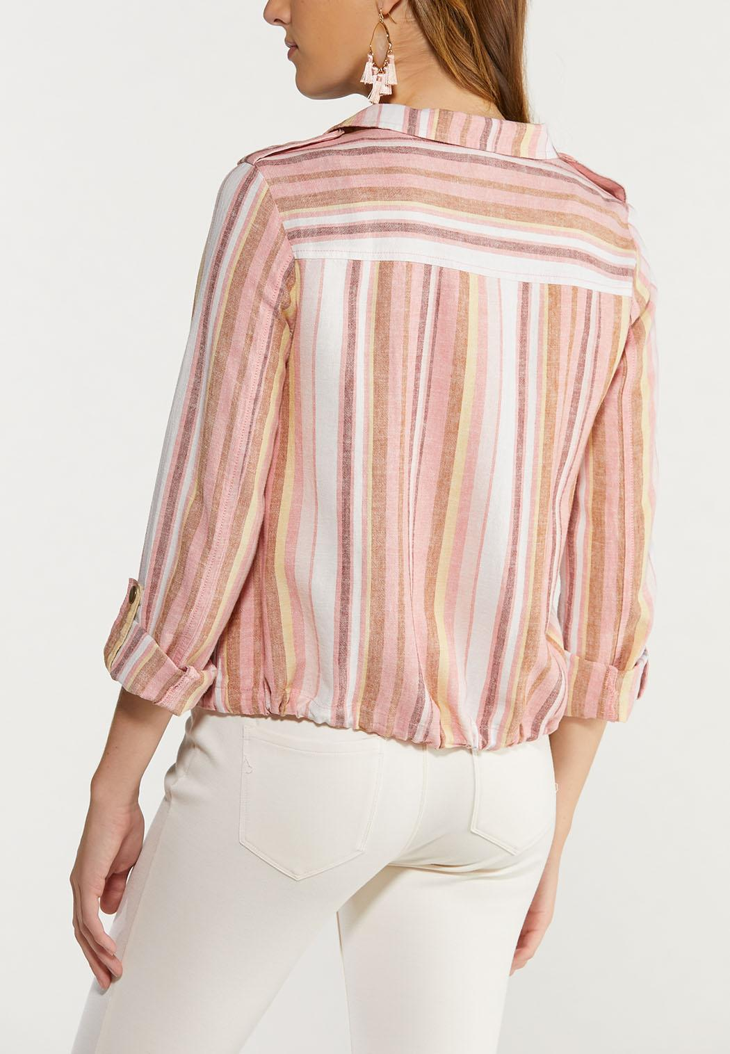 Stripe Utility Jacket (Item #44465326)
