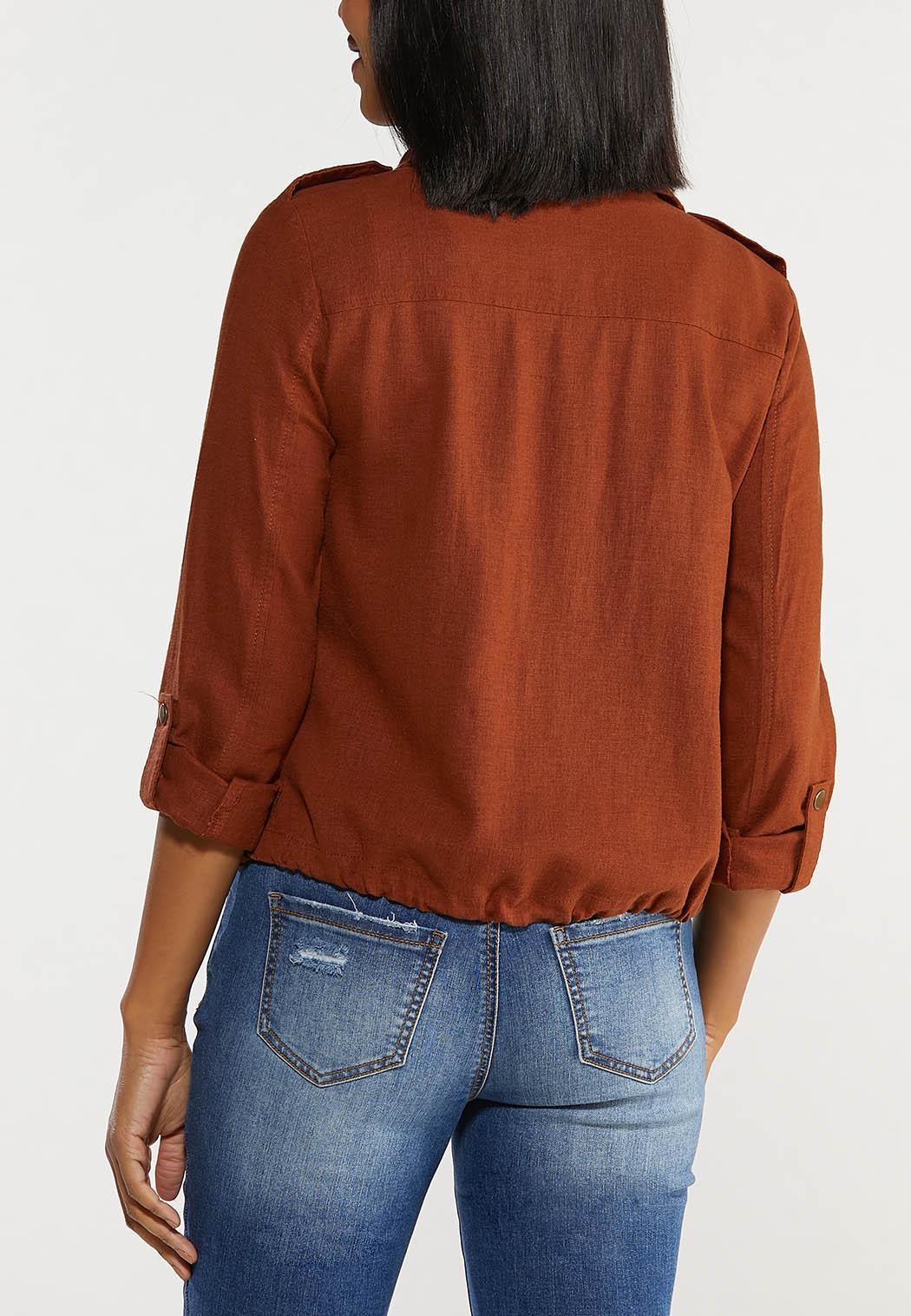 Linen Utility Jacket (Item #44465387)