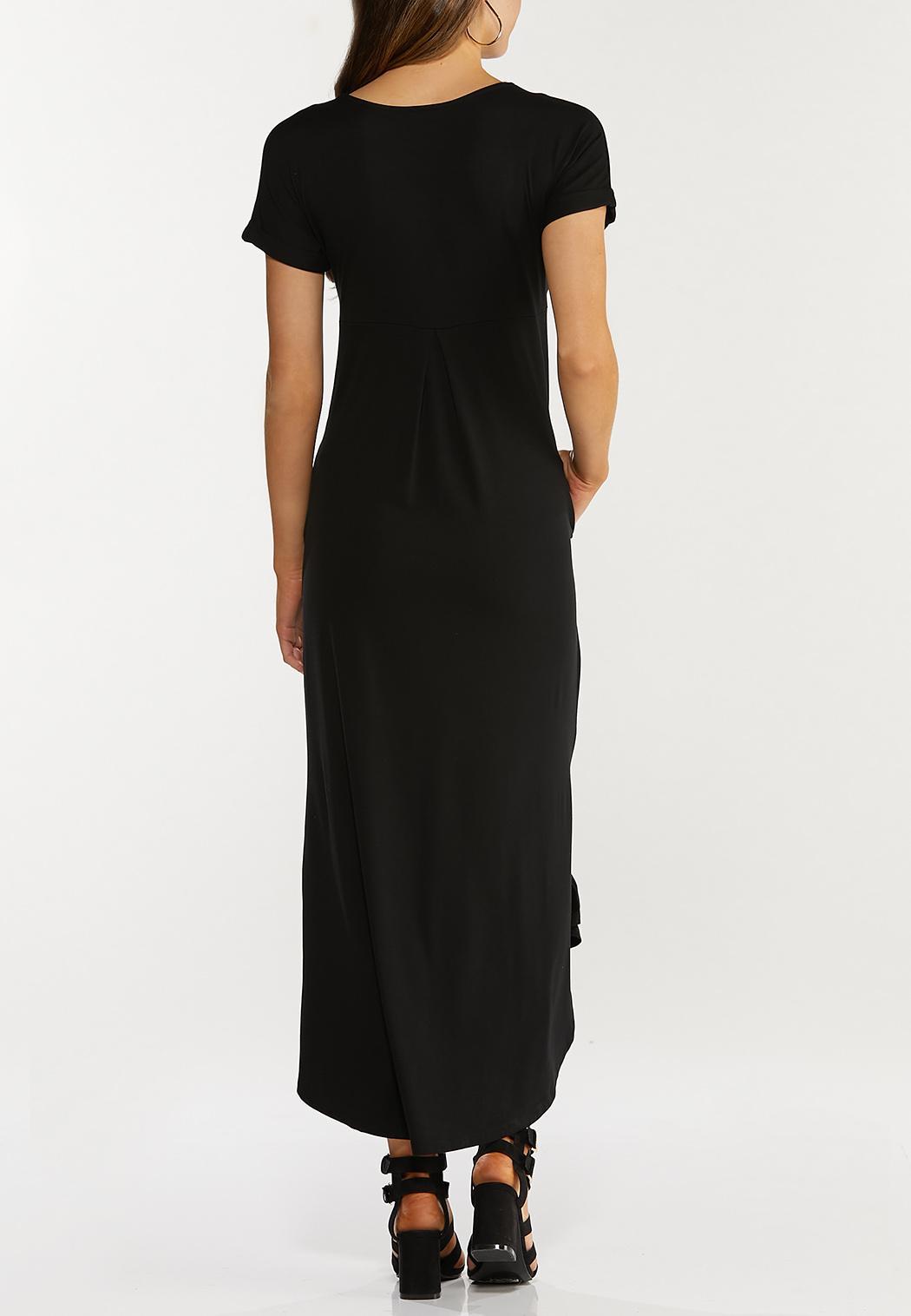 Knotted Hem Maxi Dress (Item #44466002)