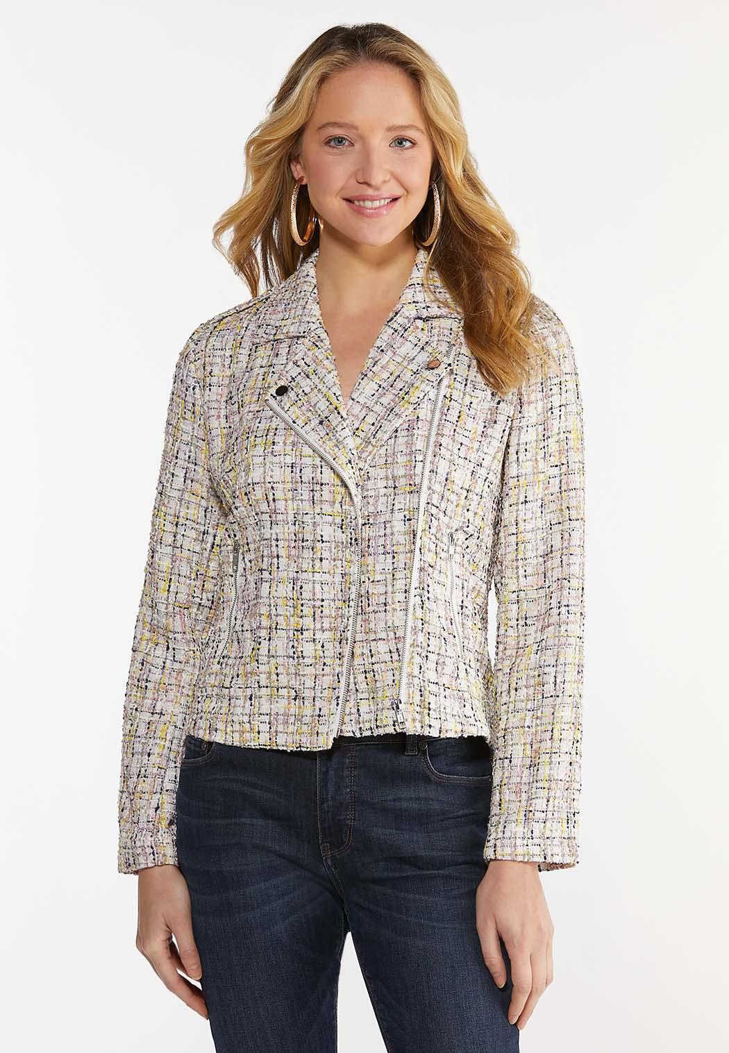Tweed Moto Jacket (Item #44466007)