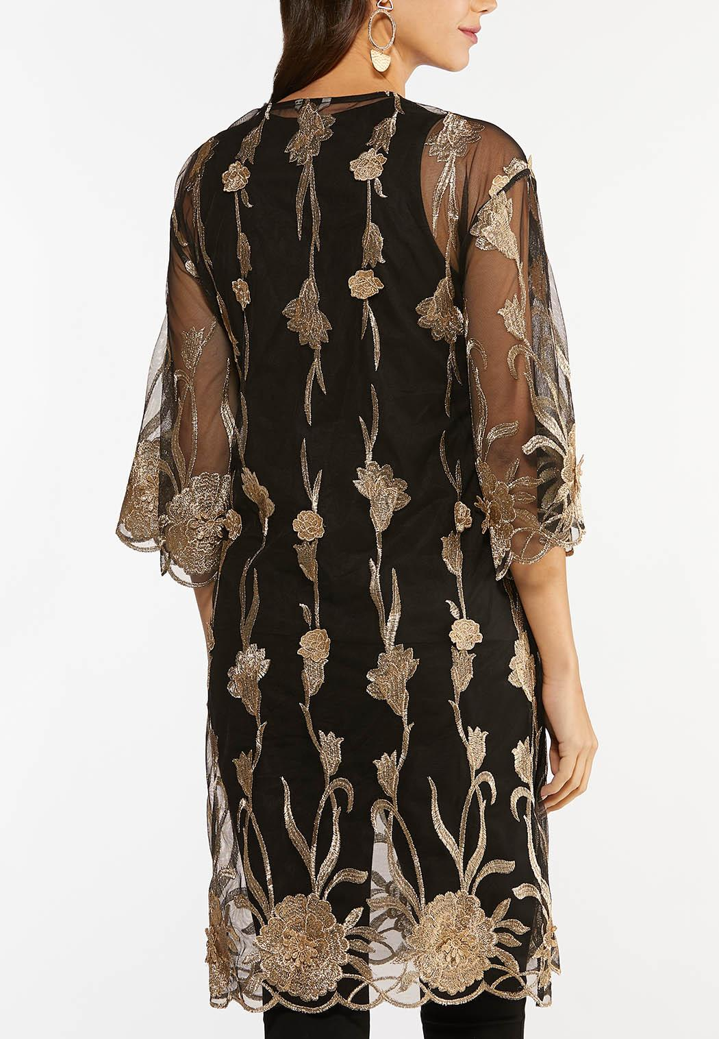 Gold Embroidered Kimono (Item #44466890)