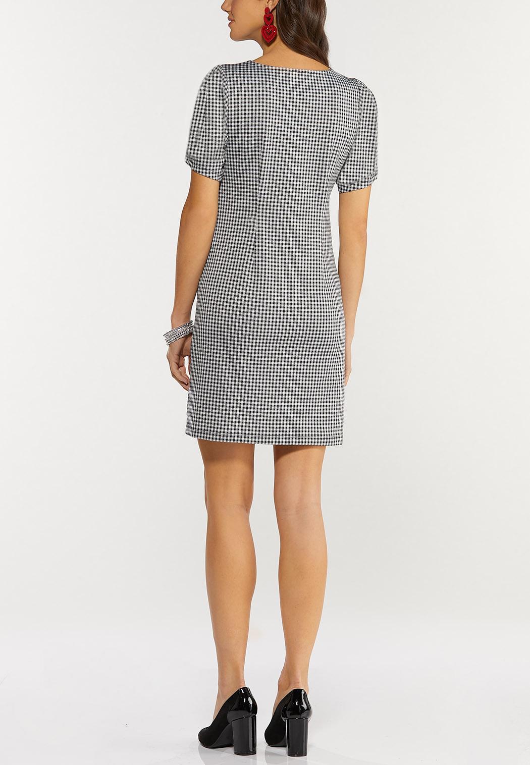 Plus Size Gingham Dress (Item #44466924)