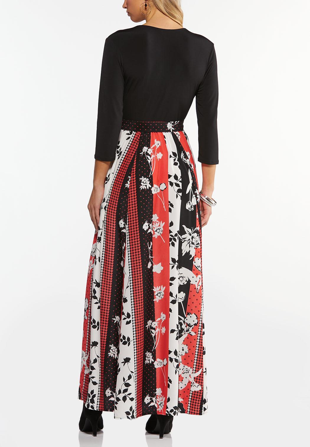 Plus Size Spice Floral Maxi Dress (Item #44467023)
