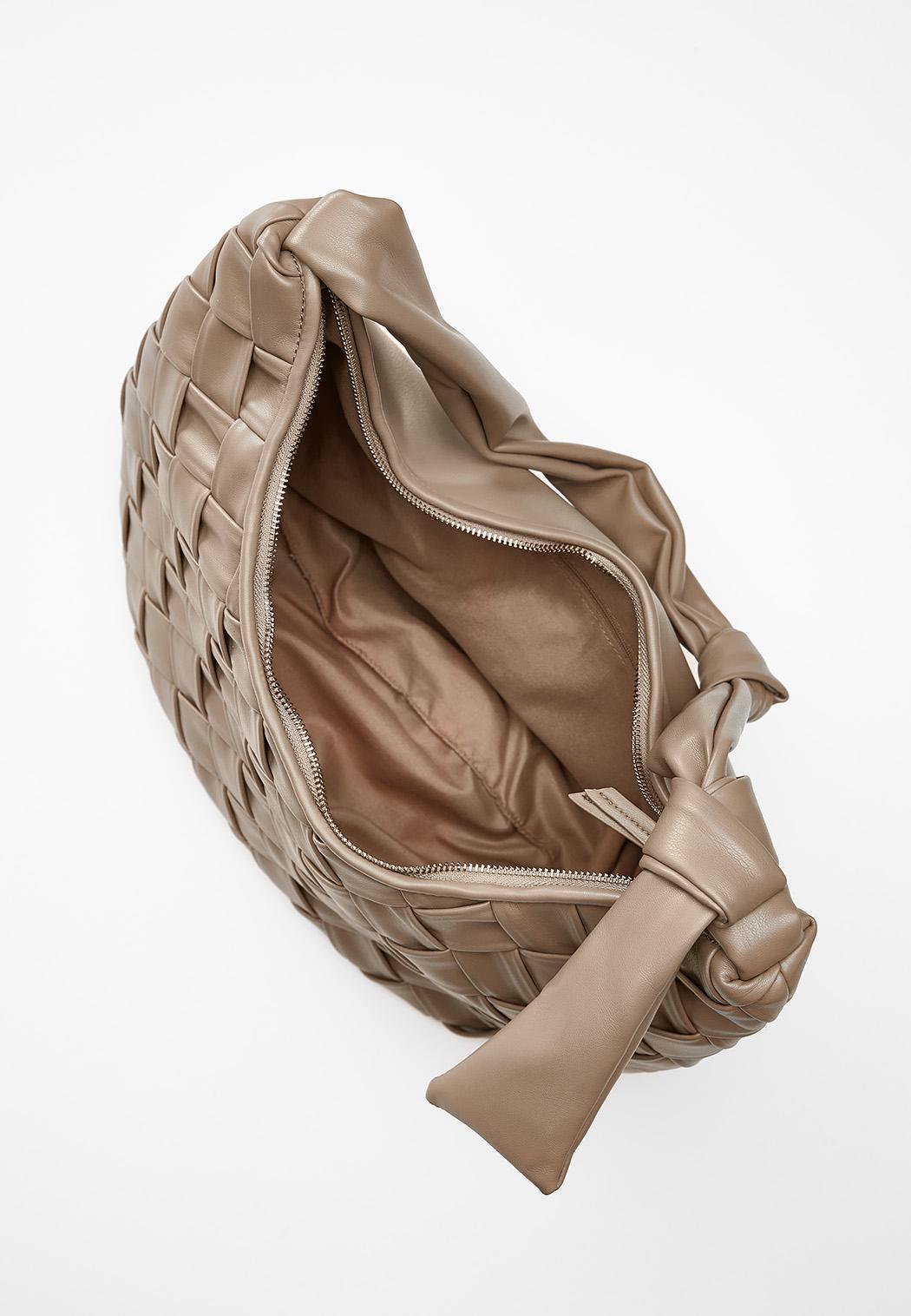 Basketweave Hobo Handbag (Item #44468214)