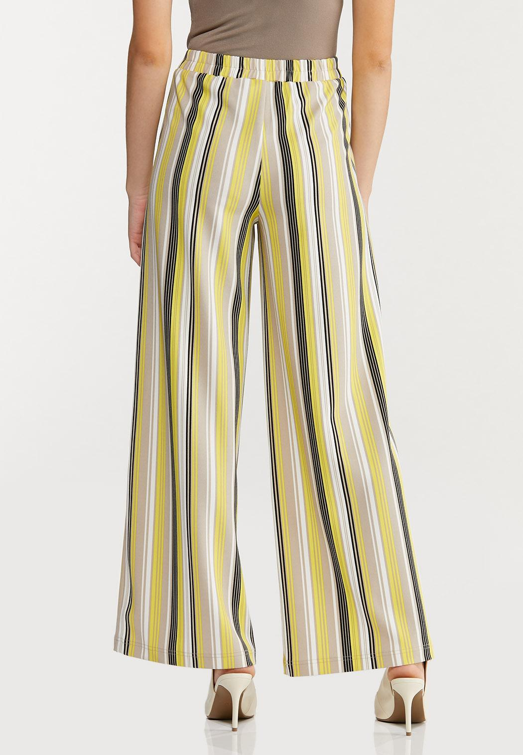 Petite Striped Palazzo Pants (Item #44468447)