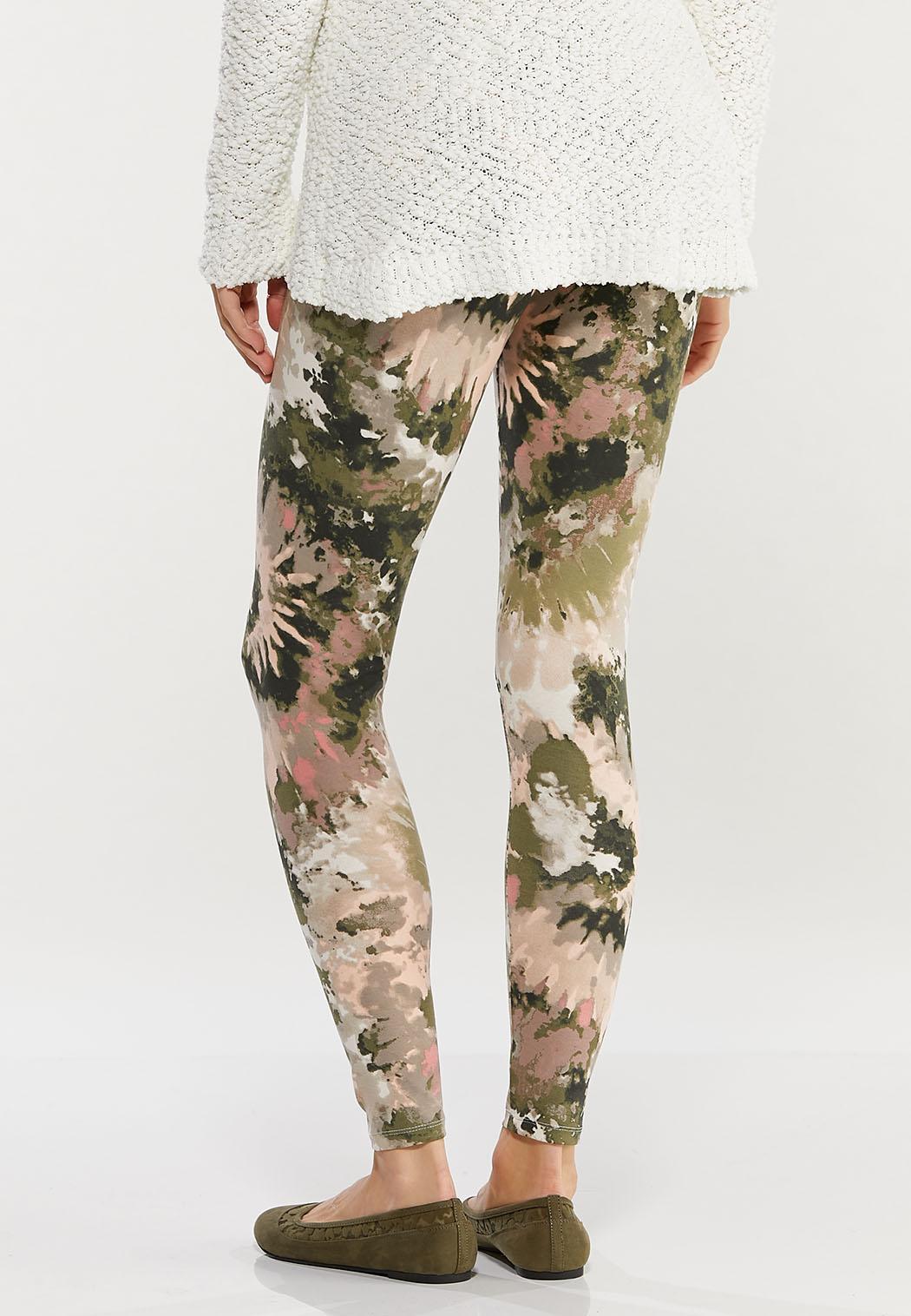 Swirly Tie Dye Leggings (Item #44468675)