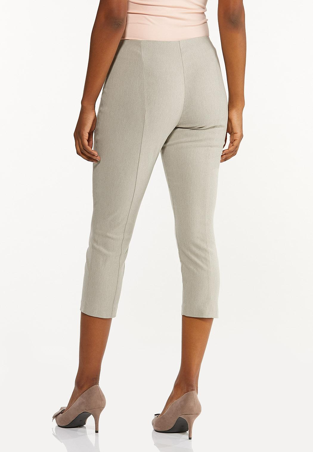 Cropped Bengaline Pants (Item #44469491)
