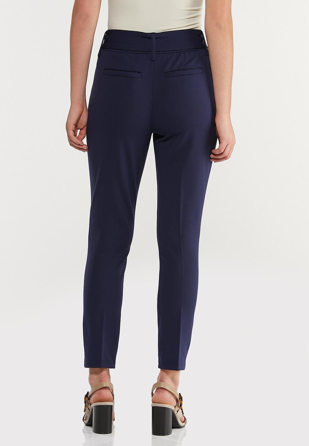 Belted Slim Pants (Item #44470061)