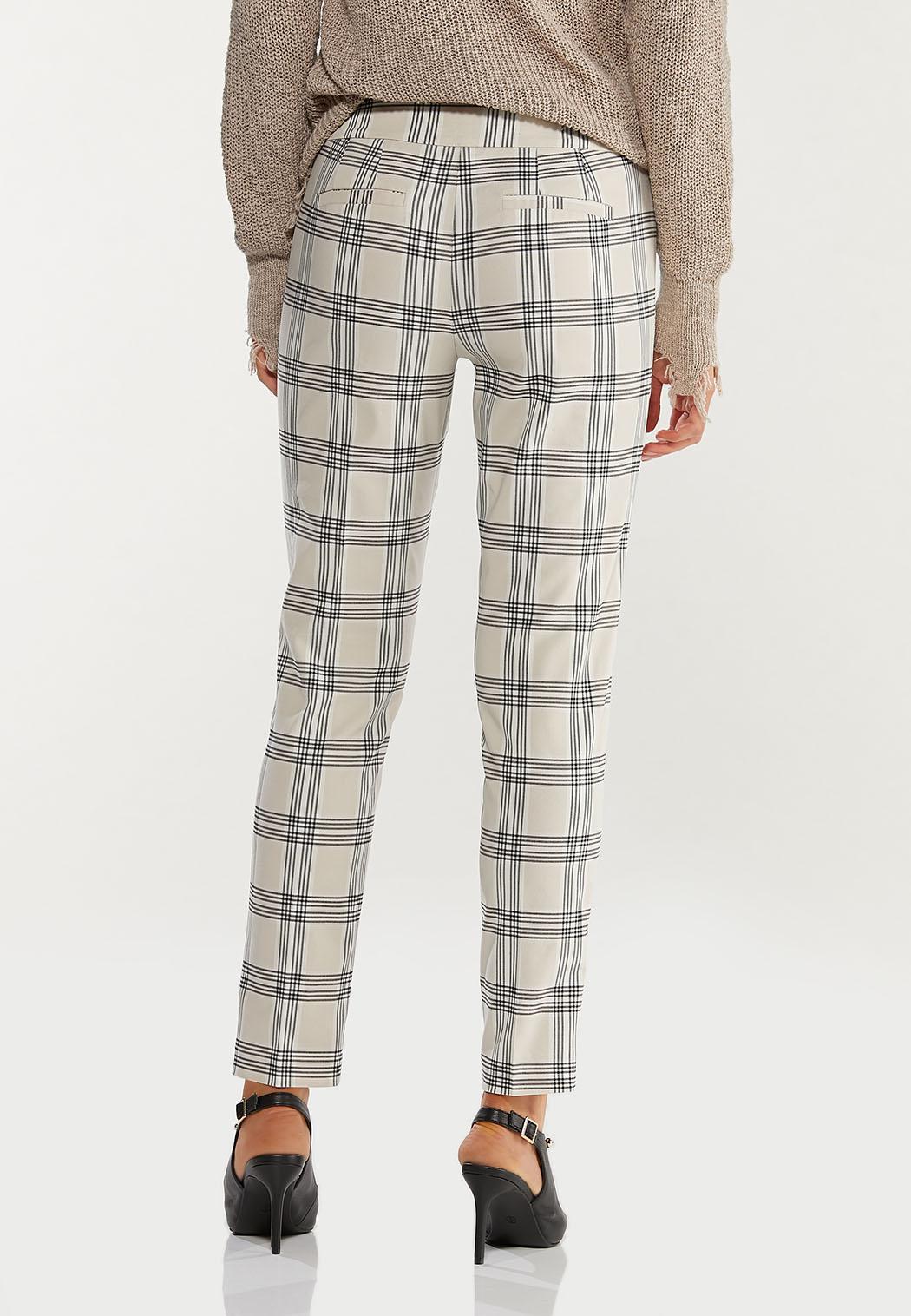 Shell Plaid Bengaline Pants (Item #44470230)