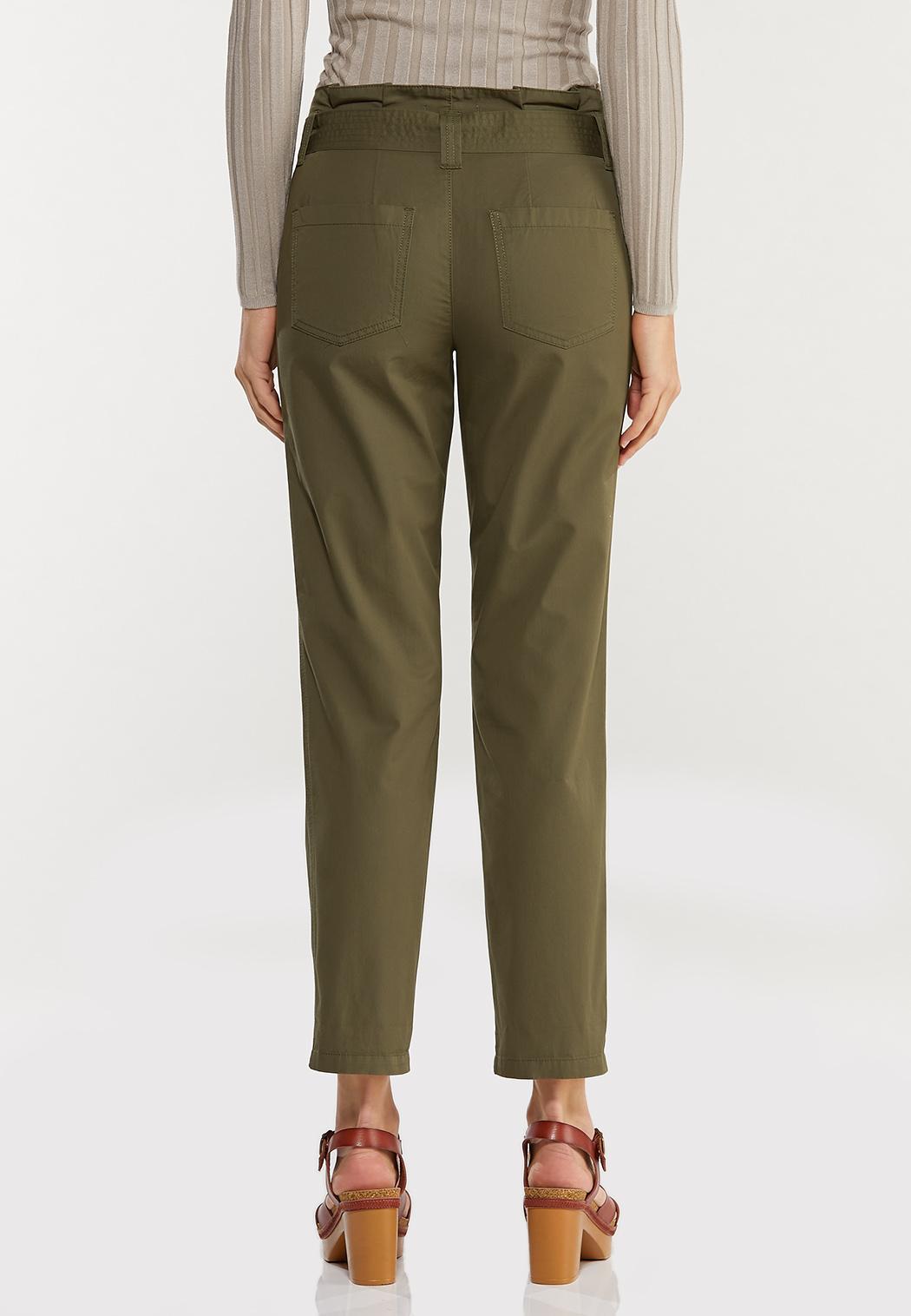 Paperbag Waist Utility Pants (Item #44471073)