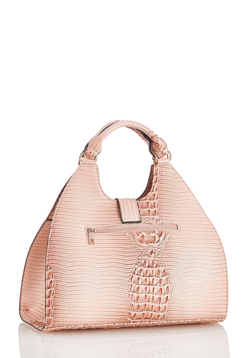 Pink Croc Satchel (Item #44471628)