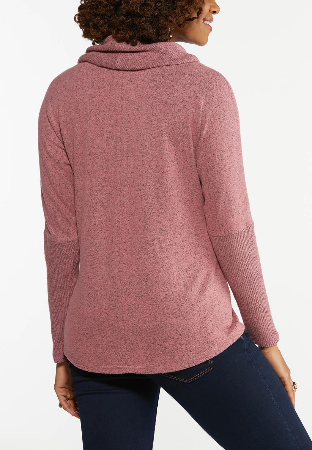 Rose Cowl Neck Top (Item #44472161)