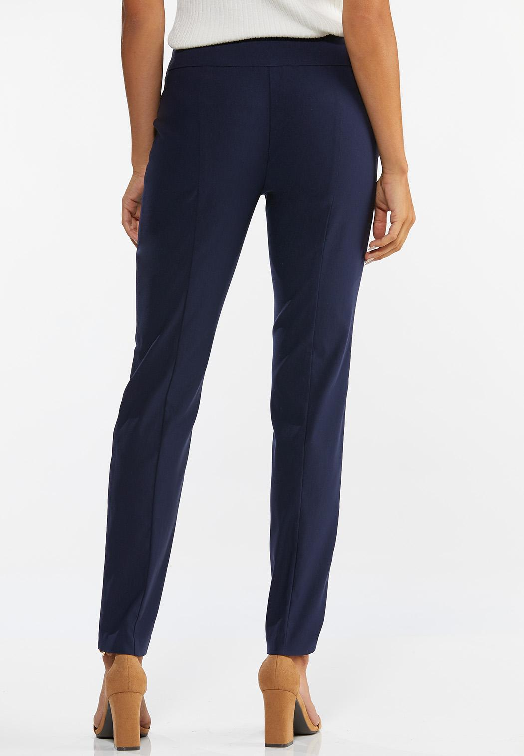 Petite Slim Leg Bengaline Pants (Item #44473464)