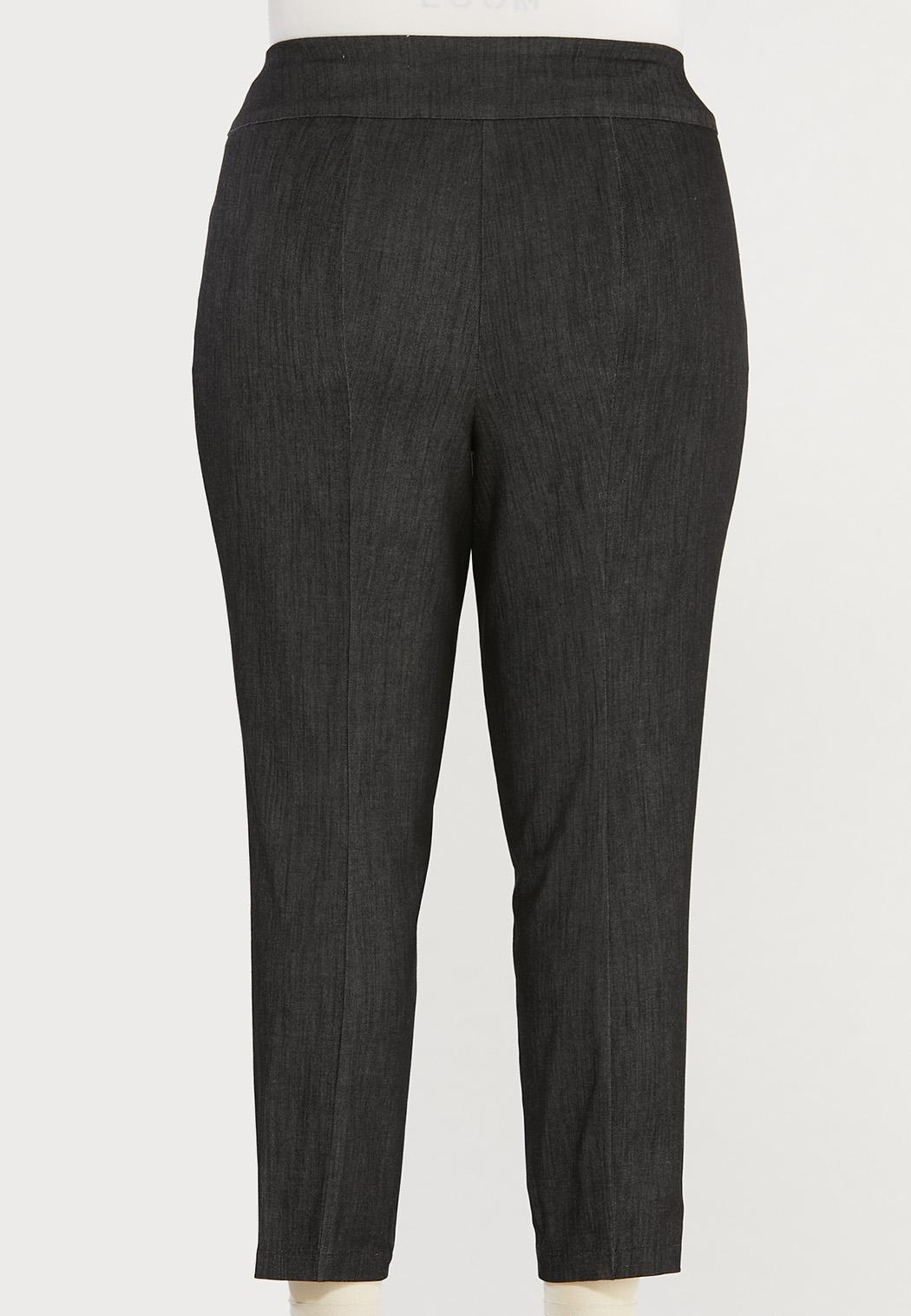 Plus Size Dressy Ankle Pants (Item #44473657)