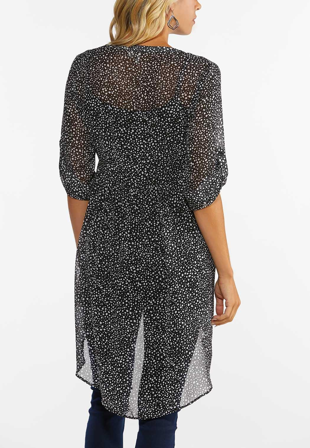 Breezy Dotted Tunic (Item #44474991)