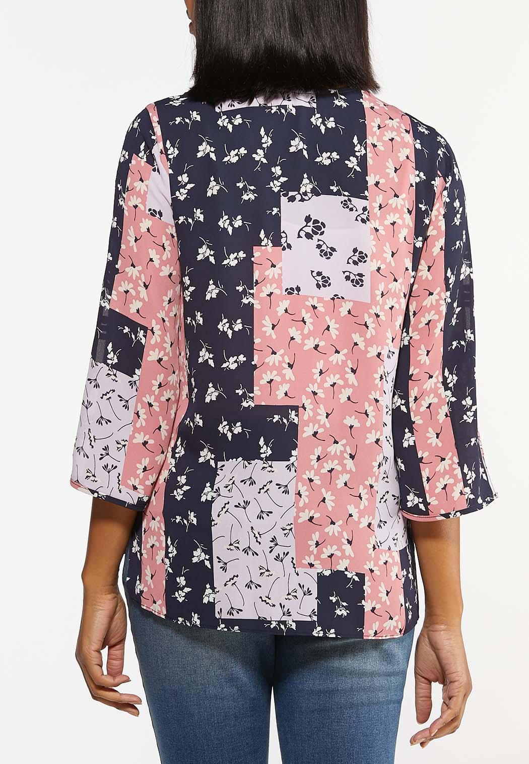 Floral Patchwork Top (Item #44475011)