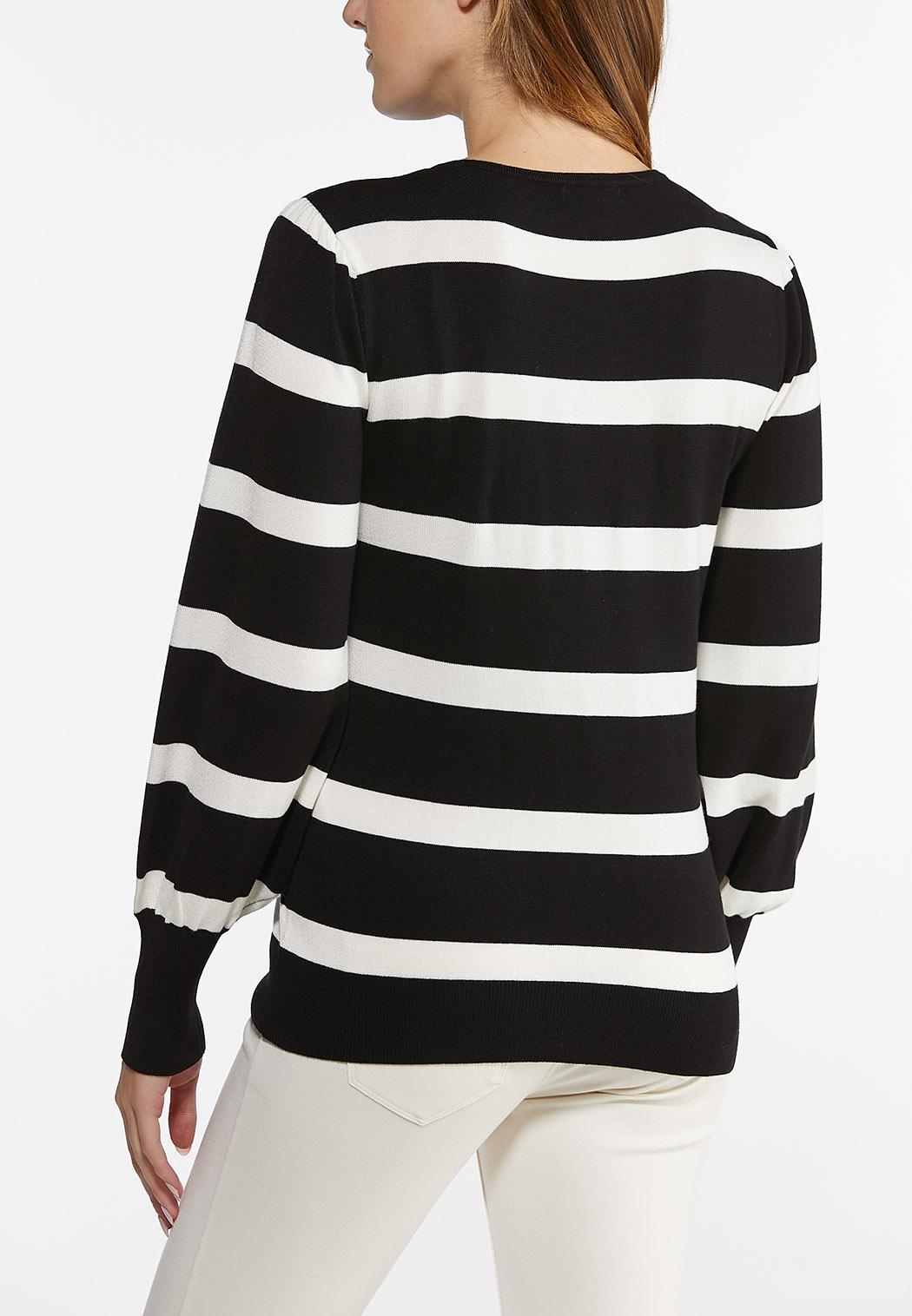 Stripe Crew Neck Sweater (Item #44475512)
