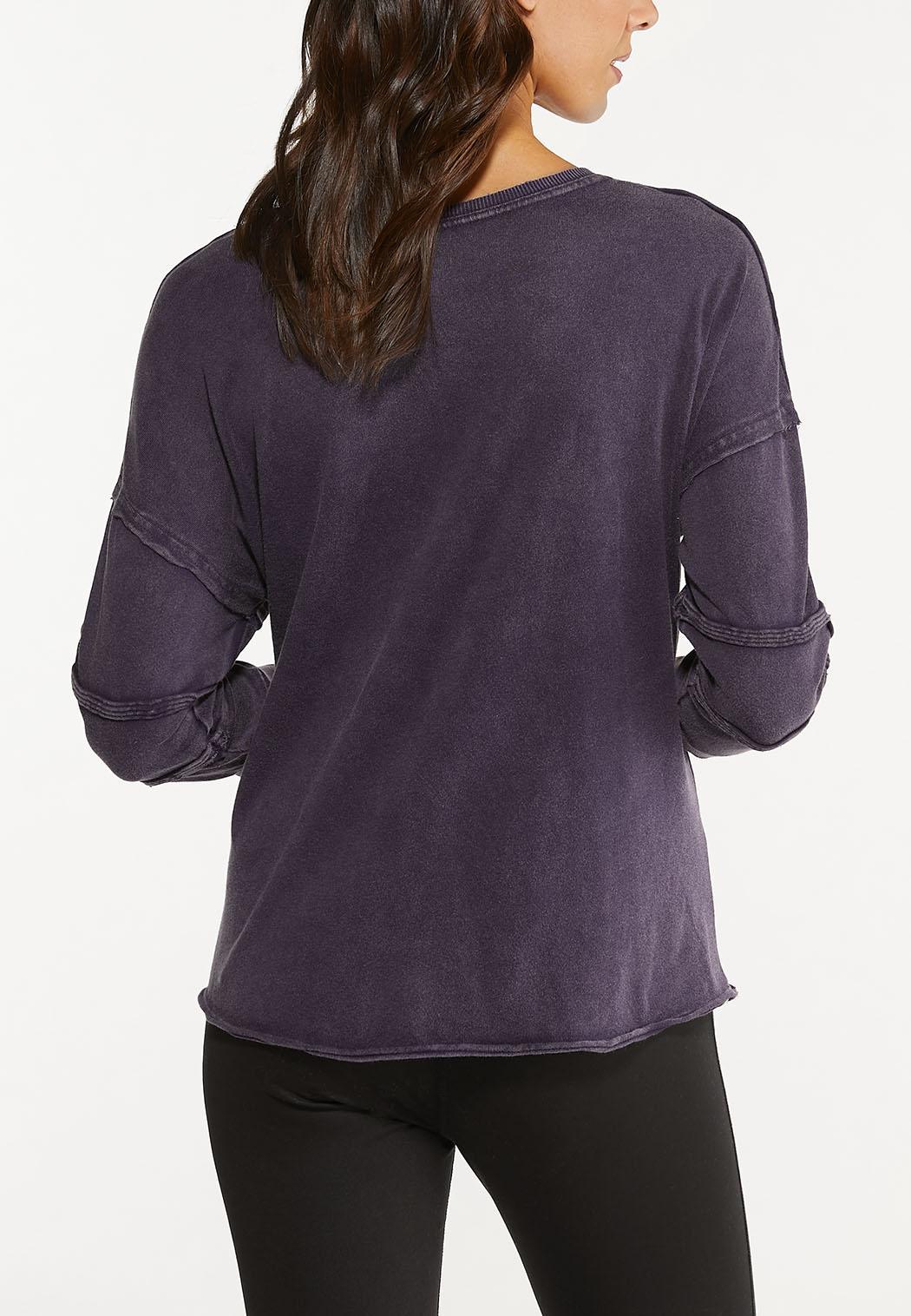 Raw Edge Sweatshirt (Item #44475521)