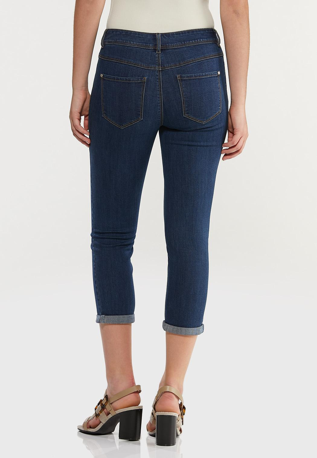 Cropped Skinny Jeans (Item #44475961)