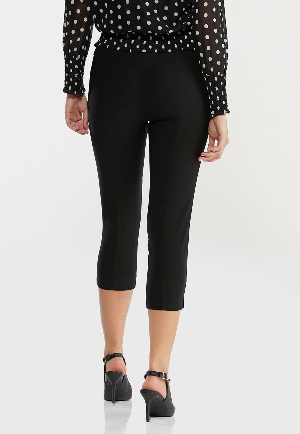 Cropped Bengaline Pants (Item #44476332)