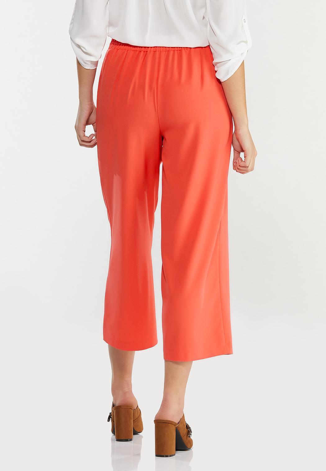 Cropped Spice Wide Leg Pants (Item #44476561)