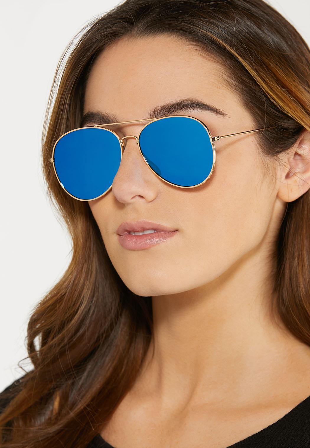 Blue Aviator Sunglasses (Item #44478961)