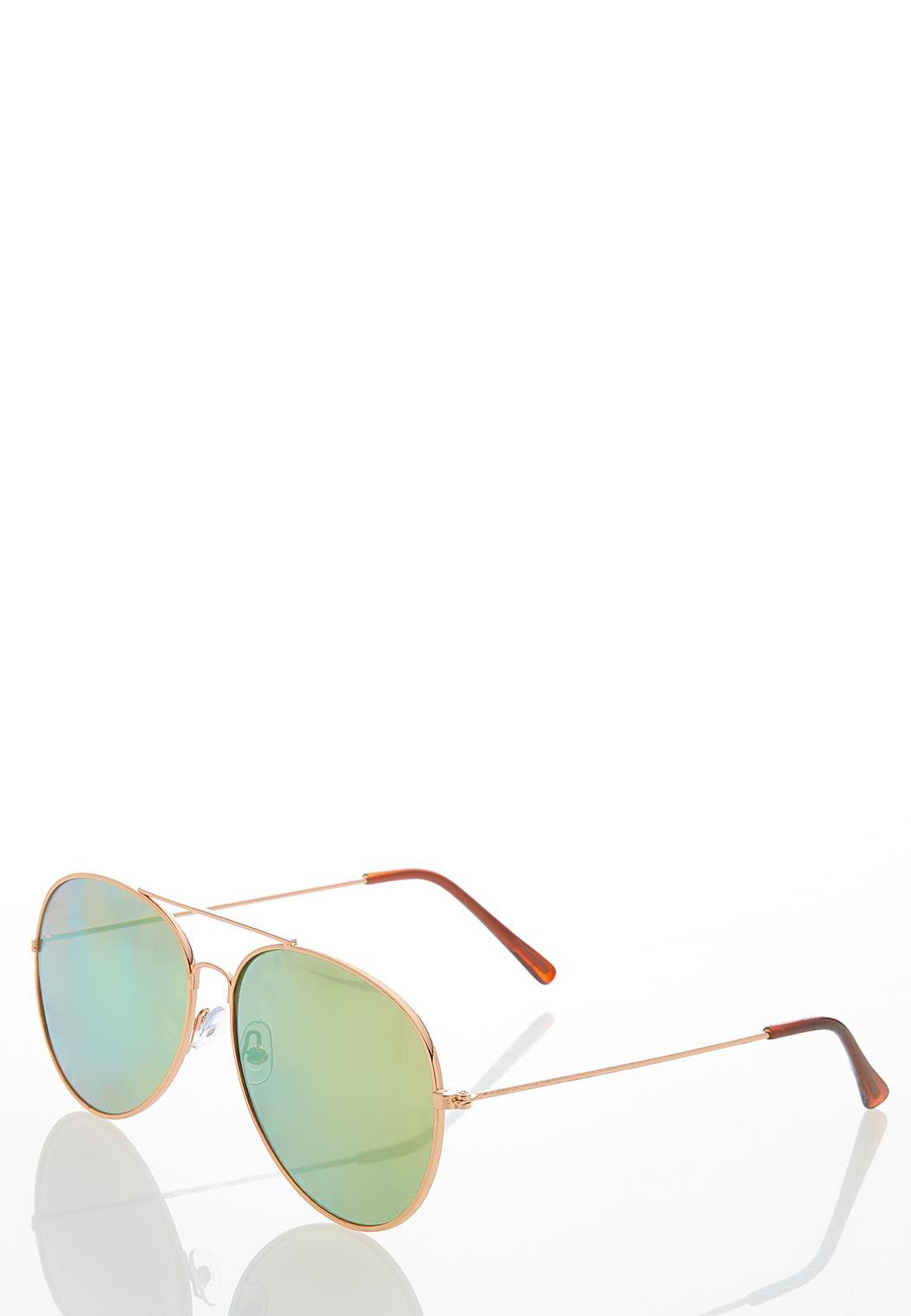 Mirrored Aviator Sunglasses (Item #44478964)