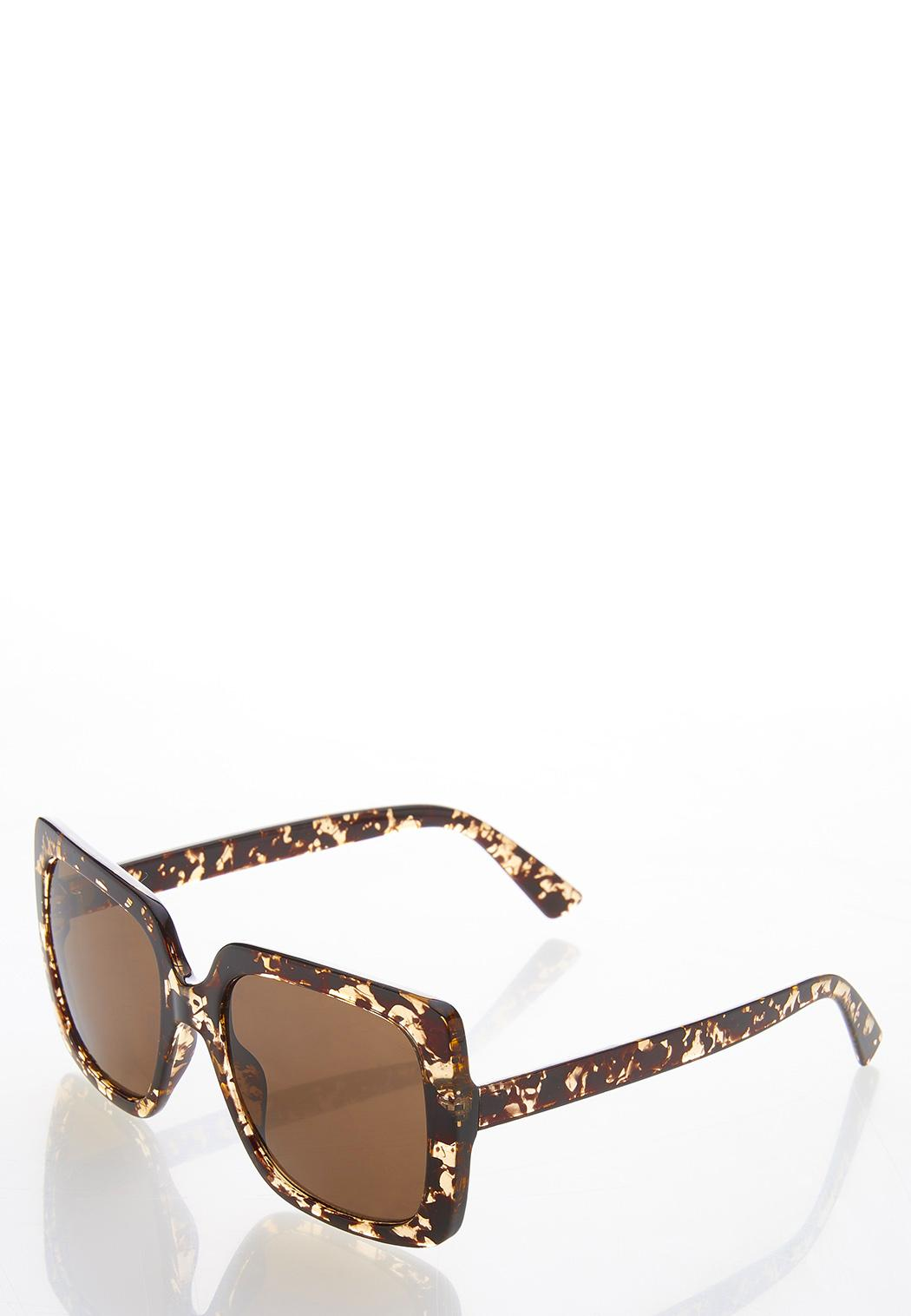 Tortoise Square Sunglasses (Item #44479093)