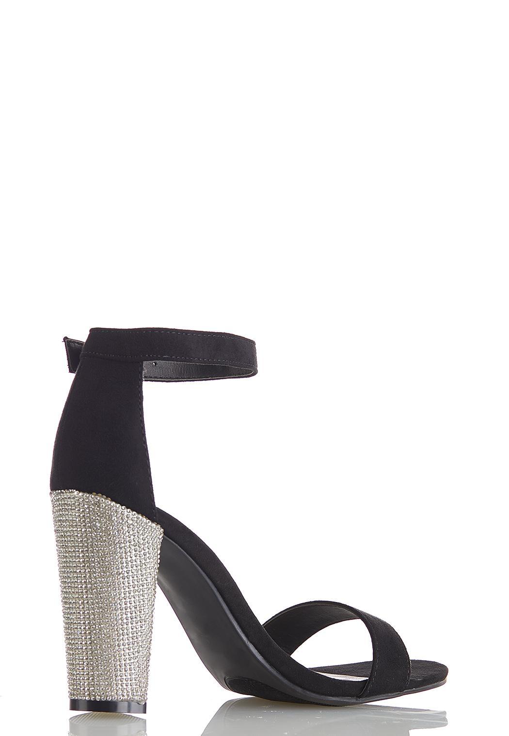 Embellished Heeled Sandals (Item #44480244)