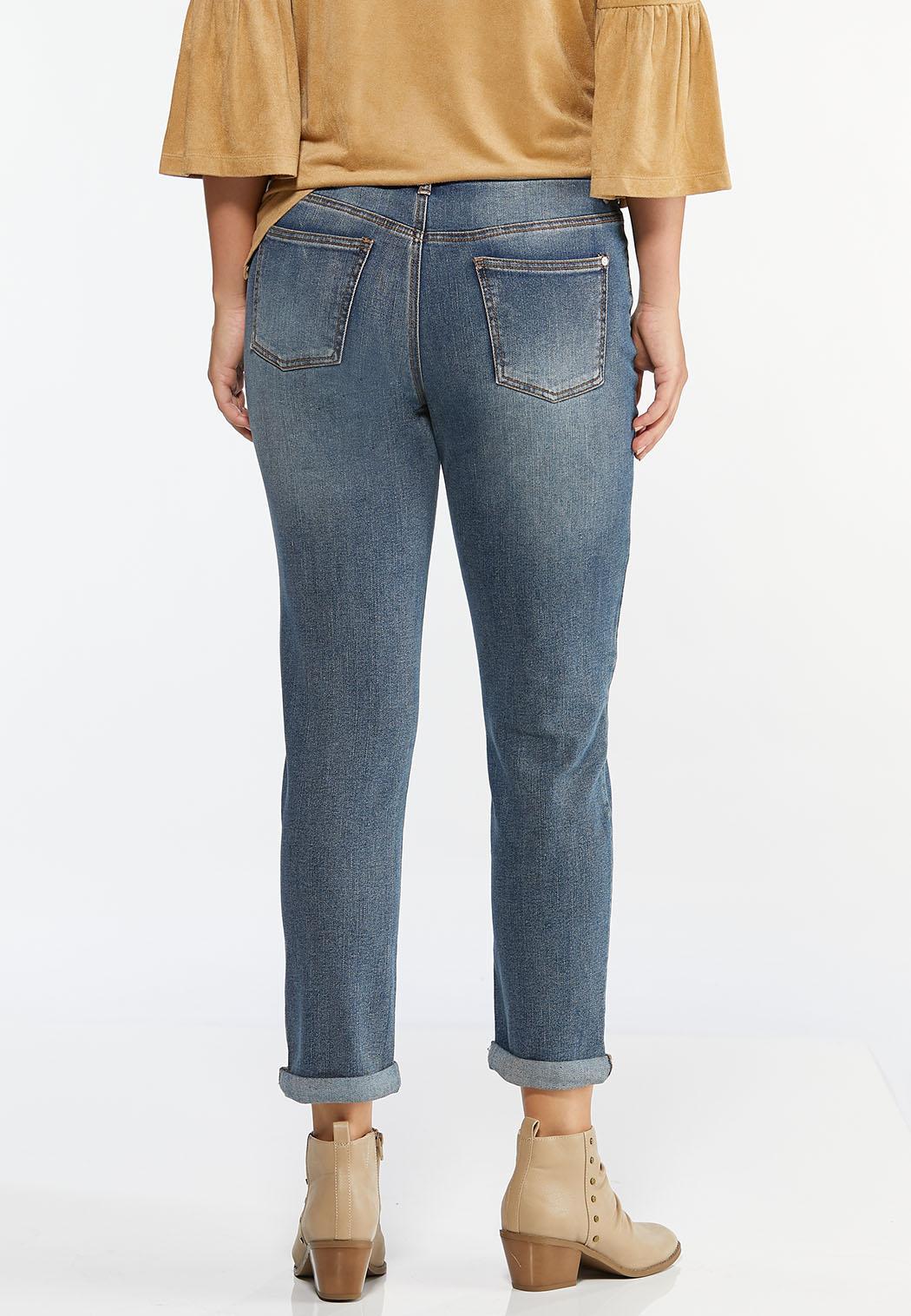 Color Patchwork Jeans (Item #44484334)