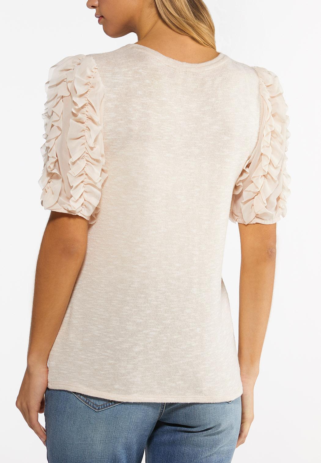 Petal Sleeve Top (Item #44486821)