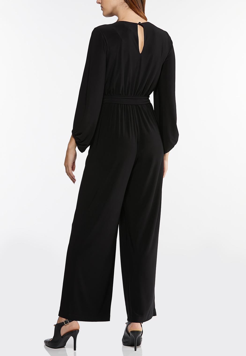 Plus Size Belted Waist Jumpsuit (Item #44488952)